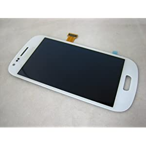 For Samsung Galaxy S3 SIII Mini GT-I8190 White AMOLED Display Screen Replacement Part