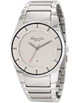 Kenneth Cole Slim Analog Grey Dial Men's Watch KC3891