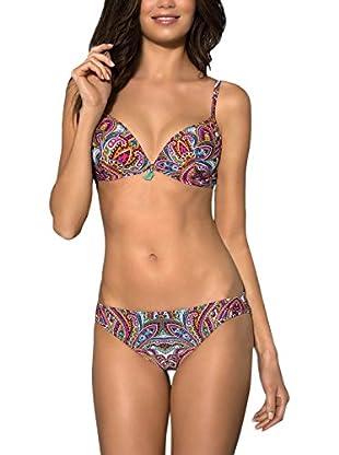 Esotiq Sujetador de Bikini Rosa
