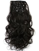 Onedor Hair Extensions- Curly Hair 7 Piece Set