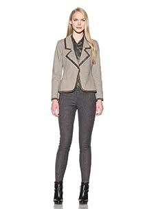 Charlotte Ronson Women's Framed Blazer (Camel)