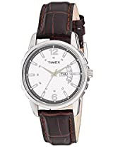 Timex Analog Silver Dial Men's Watch - TW00E307H