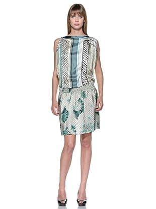 Fairly Vestido (Crema / Verde)