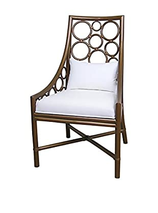 Jeffan Roman Side Chair, Metallic Brown