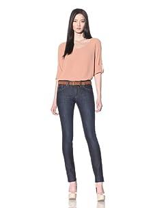 DL 1961 Premium Denim Women's Karen Hi Rise Skinny Jean (Riviera)