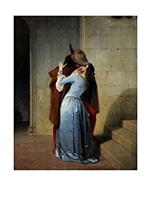 LegendArte  Wandbild Der Kuss von Francesco Hayez