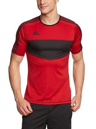 adidas Camiseta Entrada (Rojo / Negro)