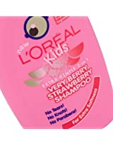 L'Oreal - Kids Very Berry Strawberry Shampoo 250ml(Made in UK)