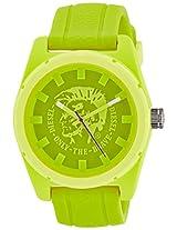 Diesel Analog Yellow Dial Men's Watch - DZ1626