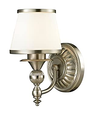 Artistic Lighting Smithfield 1-Light LED Sconce, Brushed Nickel
