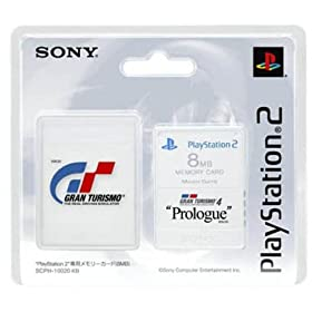 PlayStaion 2��p�������[�J�[�h(8MB) Premium Series Gran Turismo 4 Prologue
