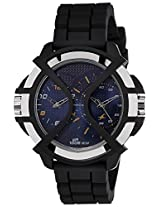 Fastrack Sport Analog-Digital Time Blue Dial Men's Watch - 38016PP01