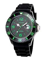 Cerise InTimes Big Dial Unisex Watch IT057S-G Black