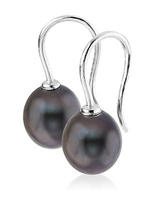 Manufacture Royale des Perles du Pacifique Pendientes Negro