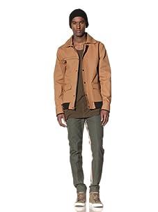 B: Scott Men's Canvas Hunting Jacket (Copper)