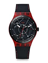 Swatch Sistem 51 SUTR400 Black Round Dial Analogue Watch - For Men