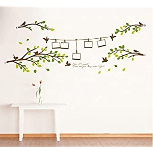 C-Star Trees with Photo Frames Wall Sticker AY830