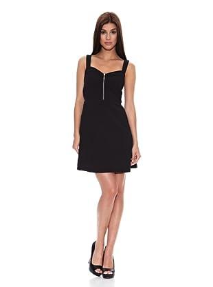 Springfield Vestido Corse Black Dress (Negro)