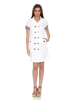Sándalo Vestido Lombardía (Blanco)