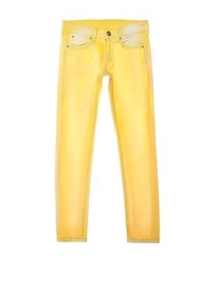 Pepe Jeans London Pantalón Emory (Amarillo Claro)