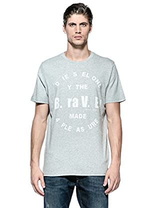 Diesel Camiseta T-Bayu-R (Gris)