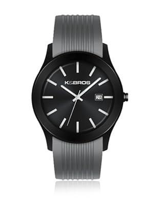 K&BROS Reloj 9489 (Gris)