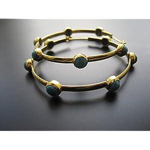 Dreamz Jewels Turquoise Earring Hoops