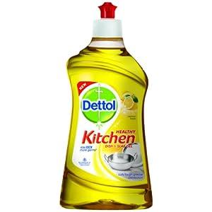 Dettol Healthy Kitchen Dish and Slab Gel (Lemon Fresh)