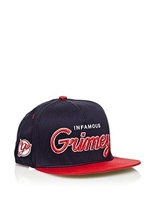 Grimey Wear Gorra de Baseball Vintage Core (Marino)