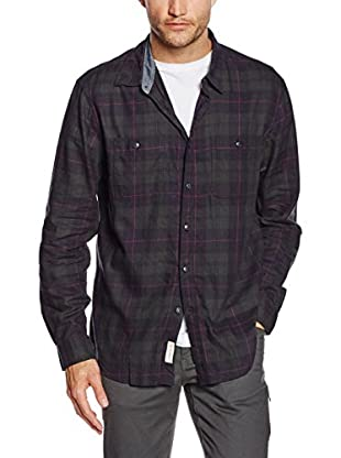 Dockers Hemd Wrinkle Twill