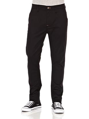 Nudie Jeans Pantalón Khaki Slim (Negro)