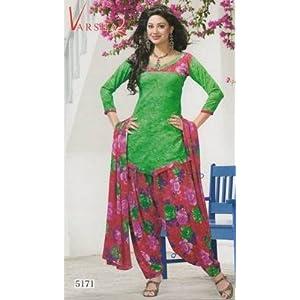 Crepe dress material elegant designer unstitched salwar suit d.no 5171
