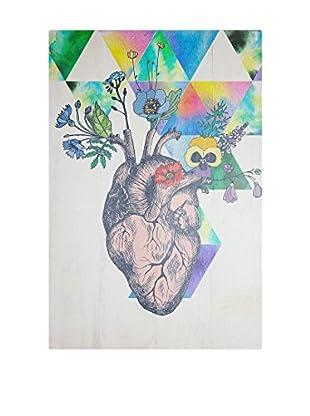 Panel Decorativo Heart