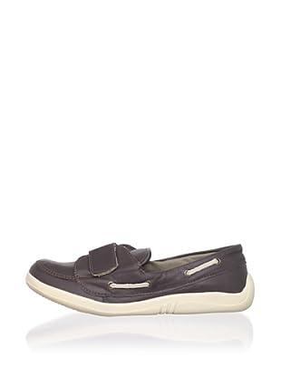 Ortopasso Kid's Slip-On Loafer (Brown)