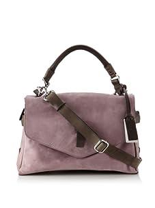 Gryson Women's Ruby Belted Top Handle Messenger (Purple Calf)