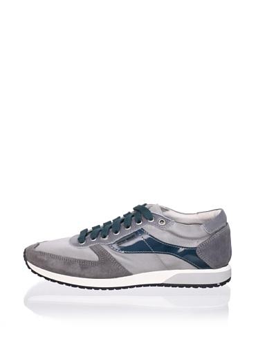 Antony Morato Men's Satin Sneaker (Med Grey)