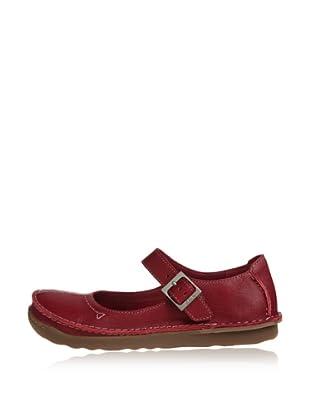 Clarks Zapatos Casual Faze Fever (Rojo)