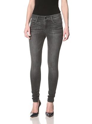 Black Orchid Women's Skinny Jean (Hematite)