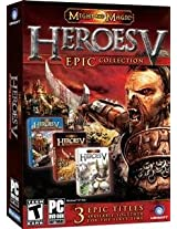 Brand New Heroes Of Might & Magic V: Epic Collection Sb (Rated: T) (Works With: WIN XP)