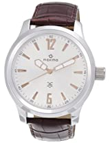 Maxima Attivo Analog Silver Dial Men's Watch - 24061LMGI