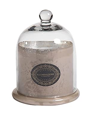 Zodax Illuminazione Large Scented Candle Jar with Dome, Peach