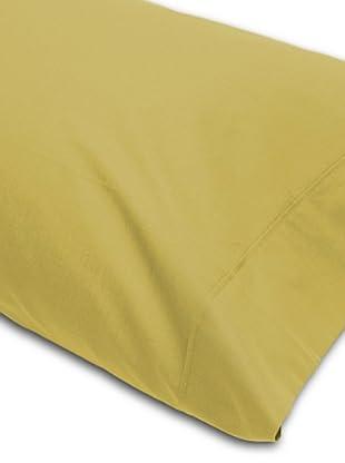 Abecé Funda de almohada Lisa (Verde Pistacho)