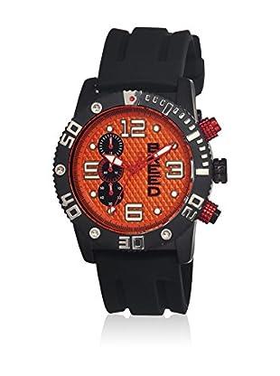 Breed Reloj con movimiento cuarzo japonés Brd3908 Negro 45  mm