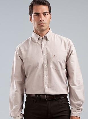 Cortefiel Camisa Lisa (marrón)