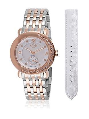 Gevril Uhr mit schweizer Quarzuhrwerk Woman Marsala Gemstone 37 mm