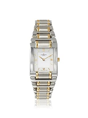Jacques Lemans Women's GU117D Gloria Silver/Gold/White Stainless Steel Watch