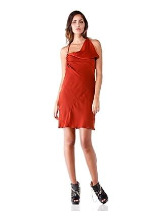 Annarita N Vestido Sbieco (Rojo)