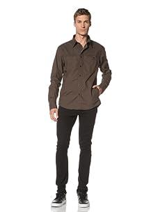 Dorsia Men's Jake Long Sleeve Shirt (Military Green)