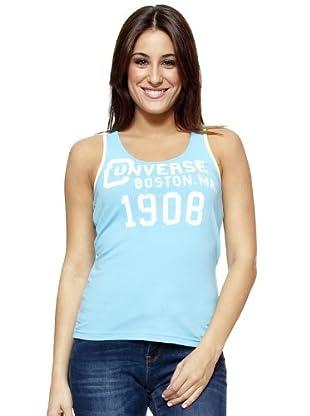 Converse Camiseta T-Team (Azul Cielo)