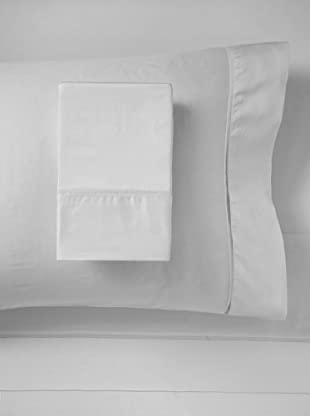 Mason Street Textiles 400TC Organza Hemstitch Sheet Set (Steel)